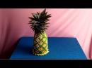 How to make 3D origami coconut - Hướng dẫn làm quả dứa origami 3d