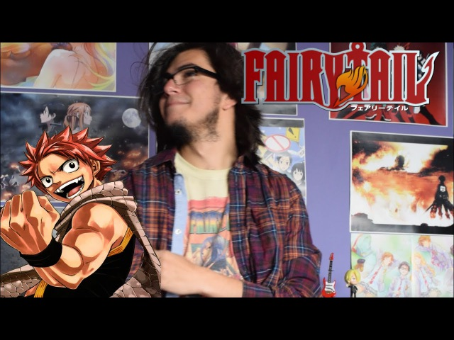 Fairy Tail Opening 8 - The Rock City Boy by JAMIL - Band Cover