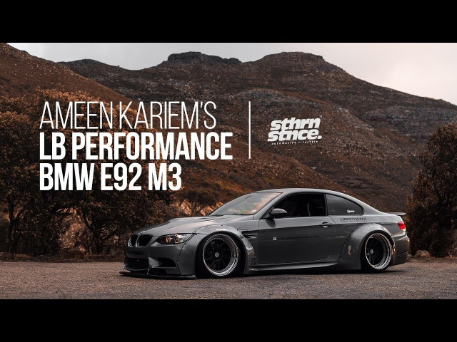 Ameen's Bagged LB Performance BMW E92 M3 Southern Stance