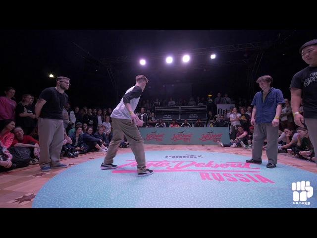 Juste Debout Russia 2018 Popping Final | PopCorn Boogaloo Freak vs GFF (KimPop Kavun) | Danceproject.info