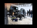 Авария с 9-ю погибшими в Тихвинском районе 06.02.18