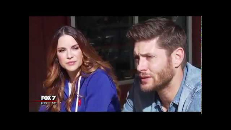 Jensen and Danneel Ackles interview about the brewery