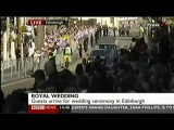 Royal Wedding Zara Phillips Weds Mike Tindall - part 1