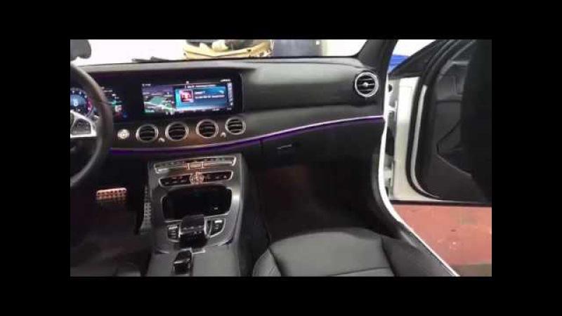 Mercedes-Benz E-Class E 400 шумоизоляция. Достигаем отличного результата - полная тишина в с ...