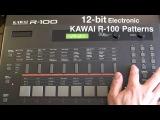 KAWAI R-100 E, 12-bit 80s Drum Machine,  Patterns Part 12