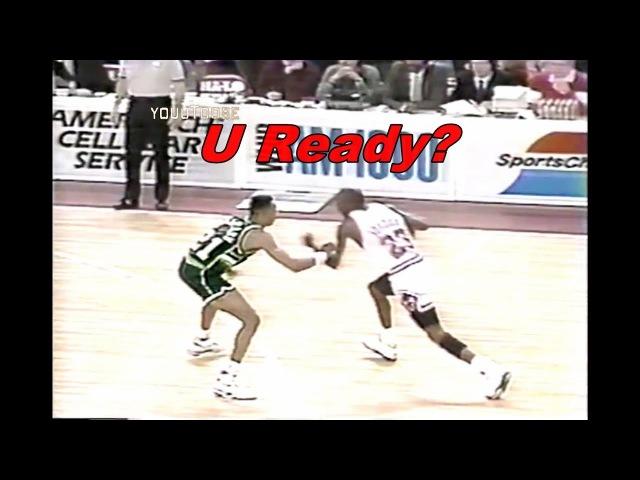 Michael Jordan Crossover on Alvin Robertson! (6X NBA All-Defensive)