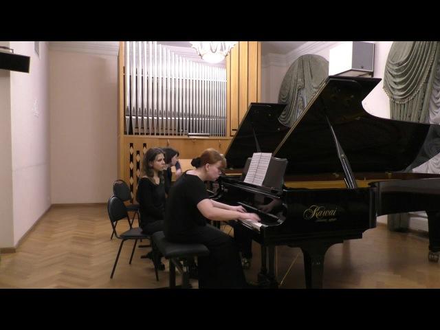 Д. Шостакович. Концертино для двух фортепиано ор.94