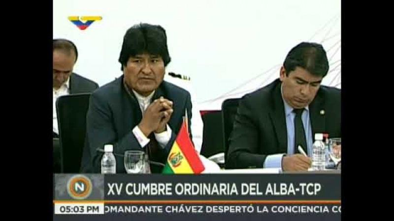 XV Cumbre de jefes de Estados y de Gobiernos Alba -TCP en Caracas, Venezuela