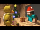 FNAF Monster School Christmas Minecraft Animation