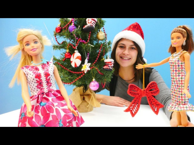 Barbie'lere Yeni yıl parti için kıyafet seçiyoruz!