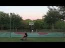 Super Habilidade frisbee VS Basquete Frisbee vs Basketball