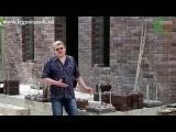 Дом из 3D-кирпича (напоминает лего-кирпич) - часть 2