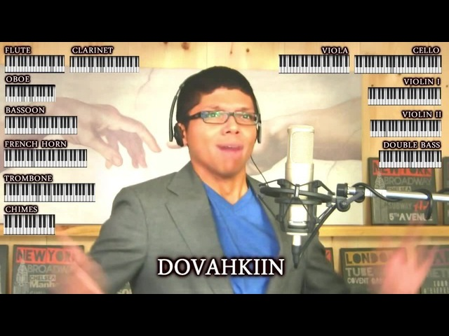 Skyrim MAIN THEME! - Dragonborn - Tay Zonday - On iTunes!