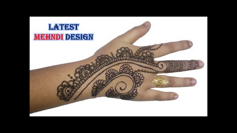Beautiful Mehndi Design Full Hand Step by Step Tutorial