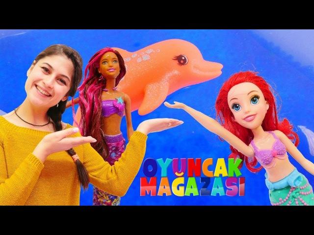 Ayşenin oyuncak mağazası Denizkızı Barbie geliyor!