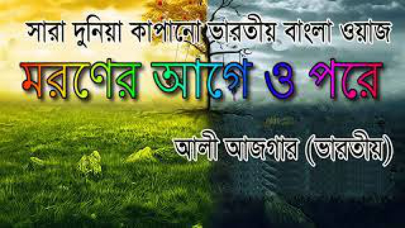Maulana Ali Asgar (furfura sharif) আলী আজগর Sunni Bangla Waz, Kolkata Bangla Waz