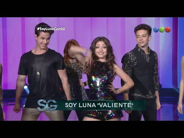 Soy Luna - 25/09/2016 - Susana Giménez