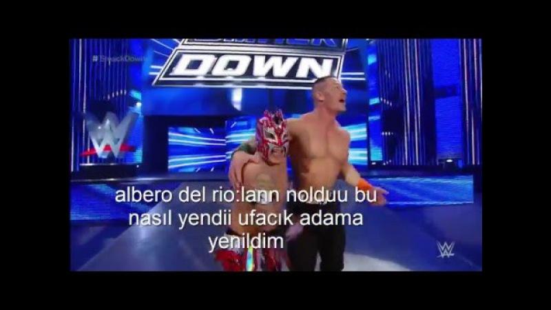 WWE Komik montaj 1 (Kalisto vs Alberto Del Rio )
