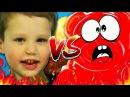 ПОЗНАВАТЕЛЬ VS МИСТЕР МАКС Великая Рэп Битва Mister Max, kids, toys, Желейный Медведь Вал...