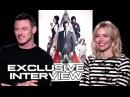 Luke Evans Sienna Miller Interview - HIGH-RISE (2016) JoBlo