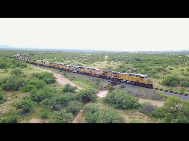 200 Union Pacific Train Engines Abandoned in Arizona Desert! (вот что значит шальные деньги)