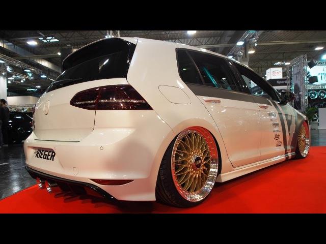 Volkswagen Golf 7R Tuning by RIEGER 272kW 370PS 480Nm - Exterior Walkaround