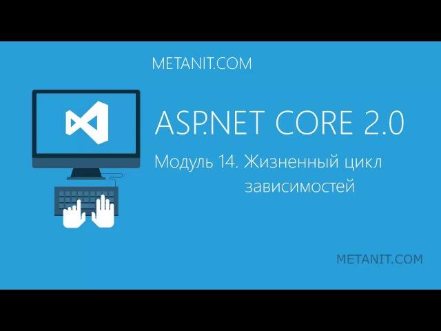 Видеокурс по ASP.NET Core. 14. Жизненный цикл зависимостей
