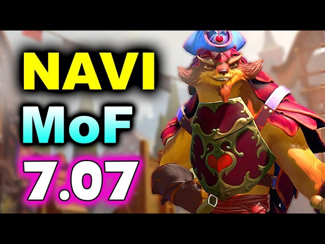NAVI vs MidOrFeed - 7.07 Action! - Midas Mode DOTA 2