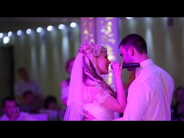 Невеста поёт жениху любимый муж