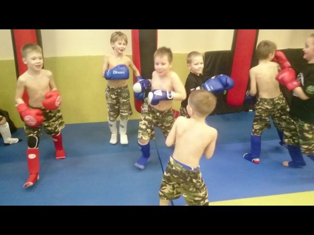 Разминка ВСПК СПЕЦНАЗ, малыши 5-8 лет, 2018