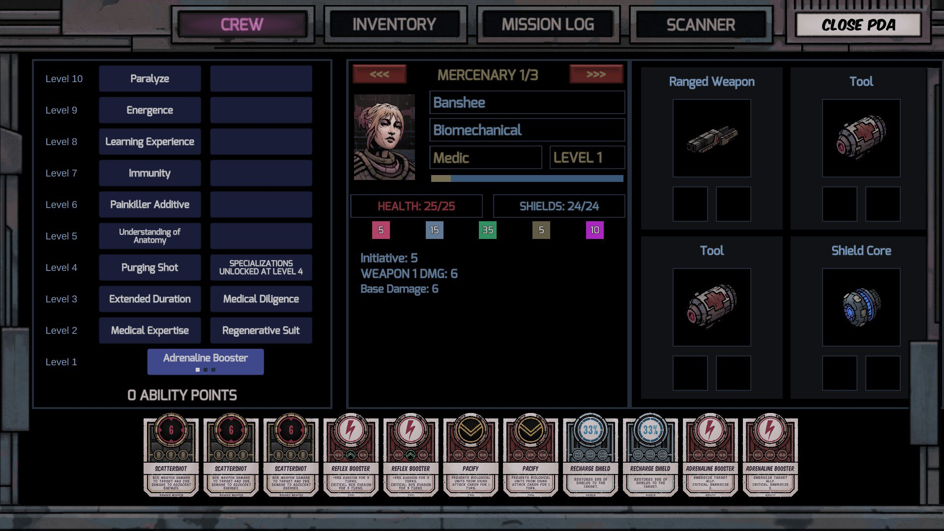 Deep Sky Derelicts inventory