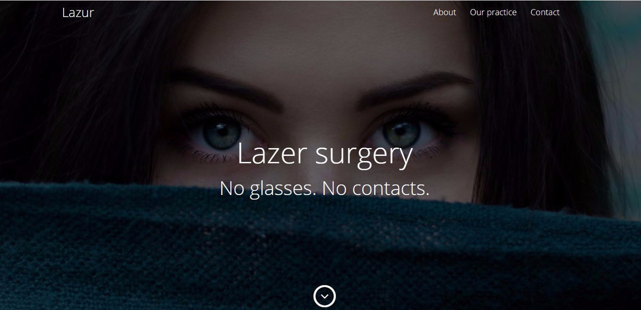 Lazer surgery Landing Page Tutorial