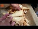 машина для производства конусов жесткого мороженого прокатанный сахарный конус
