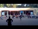 29.07.2017 Ессентуки, индейцы и лезгинка около питьевой галереи 4(2) в Курортном парке.