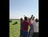 Видео со съёмок фильма