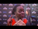Marvel 39 s Black Panther Lupita Nyong 39 o South African Premiere Interview YouTube
