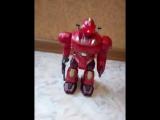 Видео обзоры игрушек - Робот Red Revo