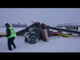 Появилось видео с места крушения самолета Ан-2 в Нарьян-Маре