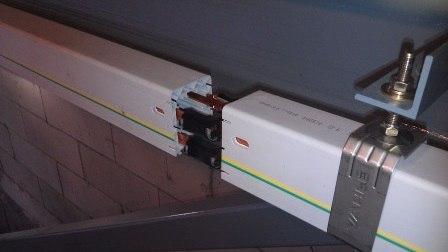 Монтаж шинопровода – картинка 2