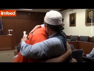 Отец убитого простил убийцу своего сына