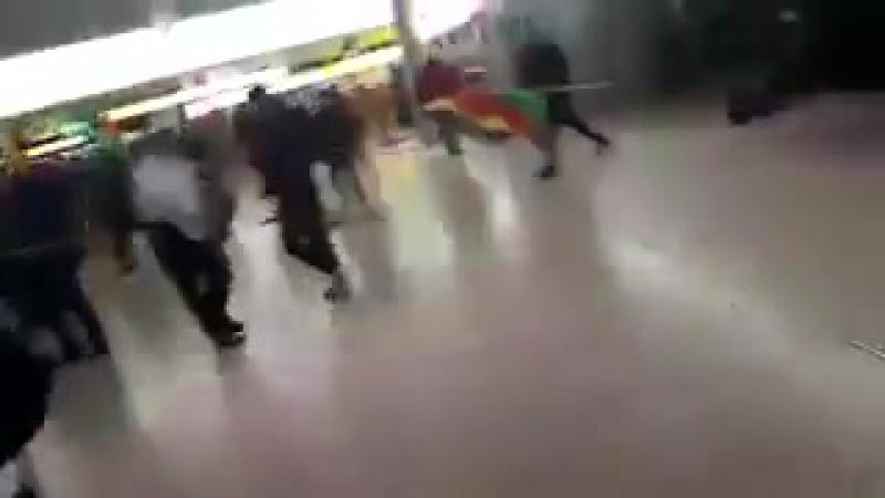 МЕСЕЛОВО: Турки и курды встретились в аэропорту Ганновера ...