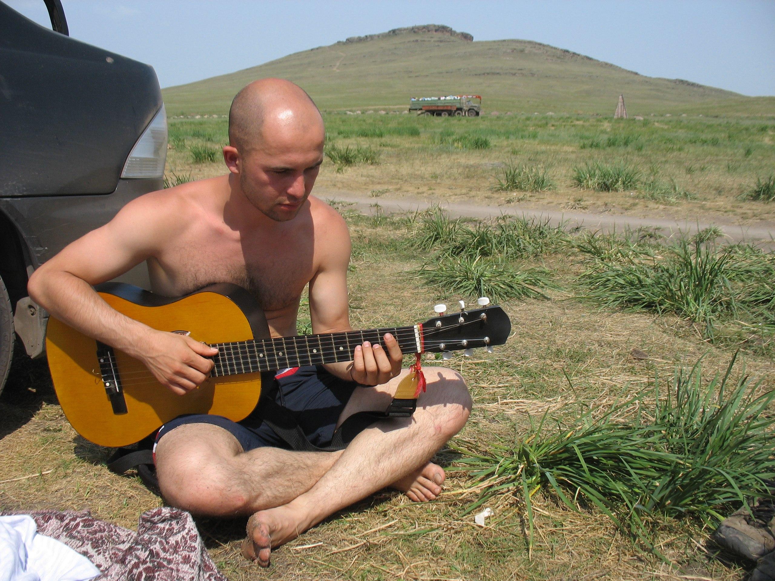 На озере Матарак