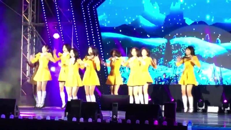 180303 프로미스나인(fromis_9) 평창 패럴림픽 축하공연 유리구두