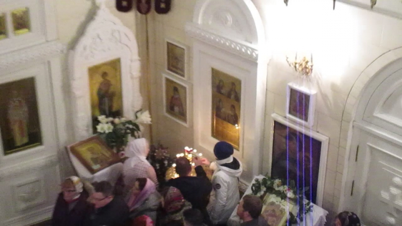 Рождественские песнопения на запричастном стихе в храме свт. Николая на Коломяжском пр. 13