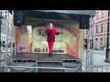 Выступление на Весеннем фестивале на Малой Конюшенной