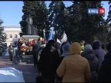 Несокрушимая и легендарная: торжественный митинг в День защитника Отечества приурочили к 100-летию создания Красной Армии