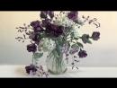 Процесс создания букета Танец цветов