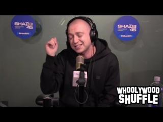 Oxxxymiron и его полный фристайл у DJ Whoo Kid (#NR)