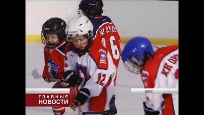 Кубок города Орла по хоккею среди детей 2011-2013 гг.р. ХК Орёл 3 февраля 2018