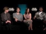 Maze Runner Thomas Brodie-Sangster, Dylan OBrien, Kaya Scodelario, Dexter Darde